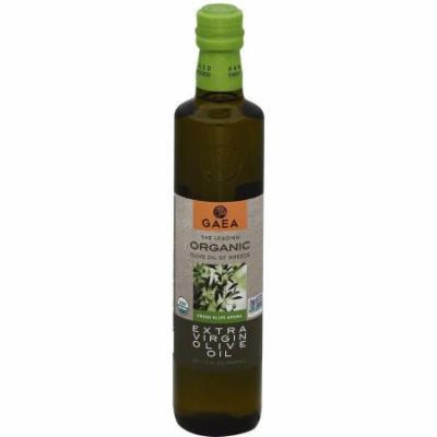 Gaea Organic Extra Virgin Olive Oil, 17 fl oz, (Pack of 6)