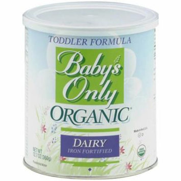Baby's Only Organic Dairy Toddler Formula, 12.7 oz, (Pack of 6)