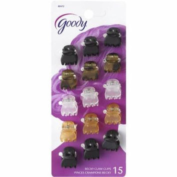 Goody Classics Claw Clip, Mini Crown (Pack of 3)