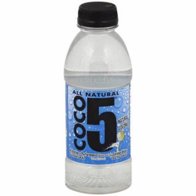 Coco5 Natural Coconut Water, 16 fl oz, (Pack of 12)