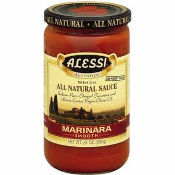 Alessi Smooth Marinara Sauce, 24 oz, (Pack of 6)