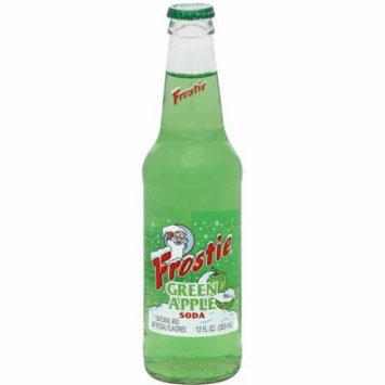 Frostie Green Apple Soda, 12 fl oz, (Pack of 24)