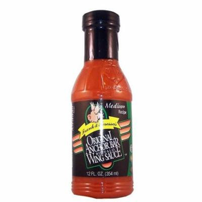 Frank & Teressa's Original Anchor Bar Buffalo Wing Sauce Medium Recipe 12oz