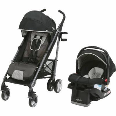 Graco Breaze Travel System Stroller with SnugRide Click Connect 35 Infant Car Seat, Davis
