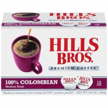 Hills Bros Colombian Kcup Coffee , 3.8 OZ (Pack of 6)