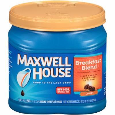 Maxwell House Breakfast Blend Coffee, 29.3 OZ (Pack of 6)