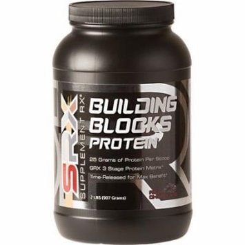 Supplement Rx Building Blocks Protein Chocolate 2 lb