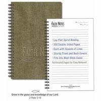 Notebook-Faith Notes Spiritual Growth-Sage