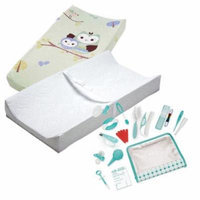 Summer Infant Contoured Changing Pad with Cover & Nursery Care Kit