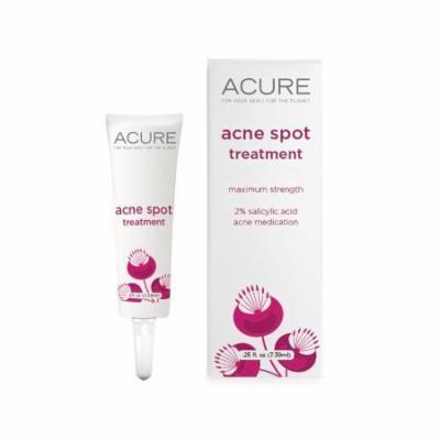 Acne Spot Treatment Acure Organics 0.25 oz Liquid
