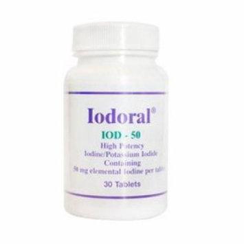 Optimox Corporation Iodoral IOD-50 30 tablets 50 mg