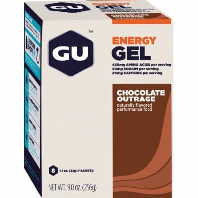 GU Energy Gel: Chocolate, Box of 8