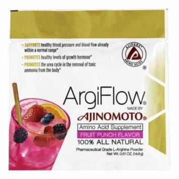 AjiPure - ArgiFlow 100% All Natural Amino Acid Supplement Fruit Punch Flavor - 0.51 oz.