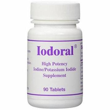 Iodoral (High Potency Iodine/Potassium Iodide Supplement) 12.5 mg 90 Tablets