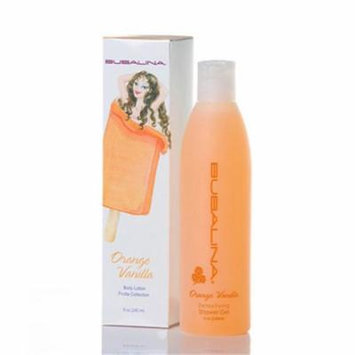 Bubalina OV01 Orange Vanilla Bath and Shower Gel