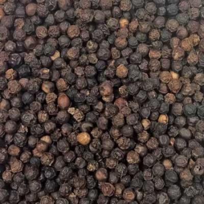 Indus Organics 100% Organic Jumbo Black Peppercorns Grinder (Tellicherry), 8 Oz