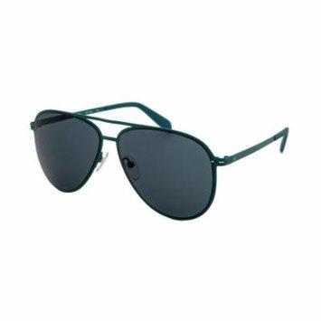 Calvin Klein 2138S-336 Aviator Turquoise Sunglasses