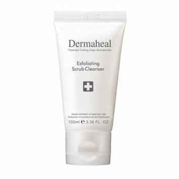 Dermaheal Exfoliating Scrub Cleanser, 3.38 oz.