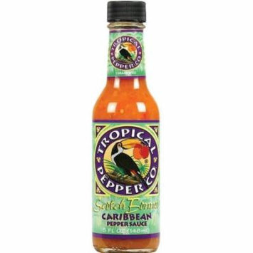 Tropical Pepper Co. Scotch Bonnet Carribean Pepper Hot Sauce