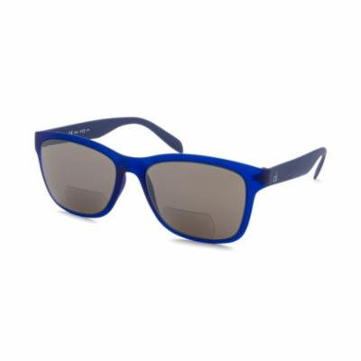 Calvin Klein 3171S-0150-412 Square Blue Reading Bifocal +1.5 Lens Power Sunglasses