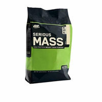 Optimum Nutrition Serious Mass, Vanilla, 12 Pound