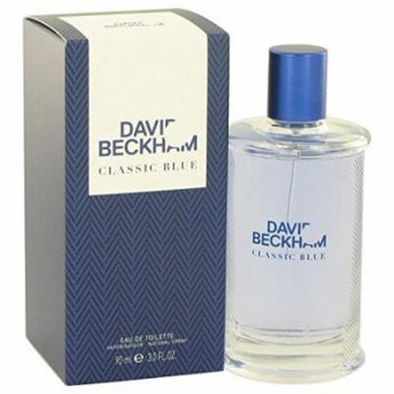 David Beckham Classic Blue by David Beckham Eau De Toilette Spray 3 oz for Men