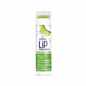 (6 Pack) BODY DRENCH Moisturizing Fruity Lip Balms - Coconut Lime