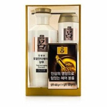 Ryo Total Anti-Aging Shampoo Set: 1x Shampoo 400g + 1x Shampoo 180g