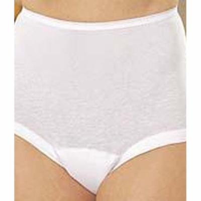 Wearever Women's Banded Leg Incontinence Panties Washable Reusable Bladder Control Briefs - Pack of 3