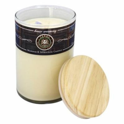 Terra Essential Scents - Massage & Intention Soy Candle House Warming Contemporary - 12 oz.