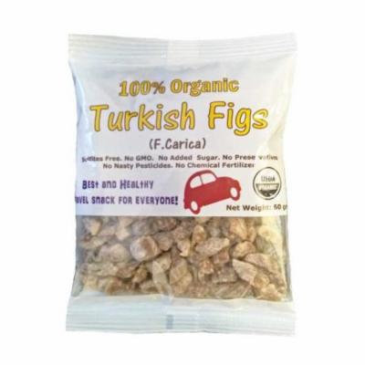 Indus Organics 100% Organic Turkish Dried Figs Pillow Pack, 12 Count