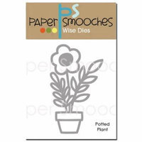 Paper Smooches Die-Potted Plant