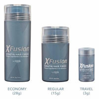 XFusion Keratin Hair Fibers 15 g / 0.53 oz - BLACK