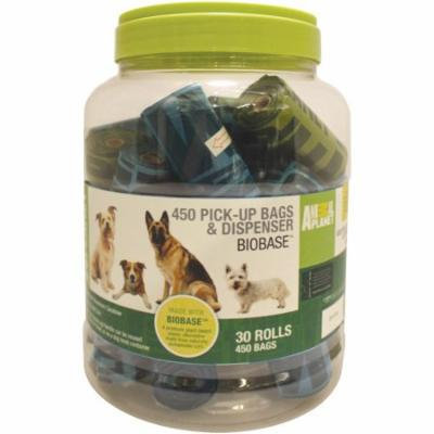 Animal Planet Waste Bag Refill Canister 30 Rolls-450 Bags W/Dispenser