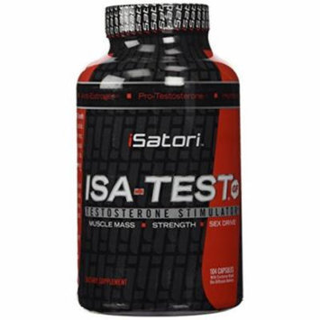 iSatori ISA-TEST GF, Advanced Testosterone Booster For Men, 104 Capsules, Muscle, Strength, and Sexual Health