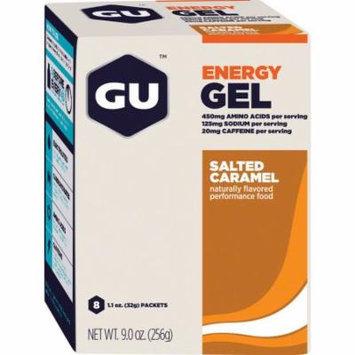 GU Energy Gel: Salted Caramel, Box of 8