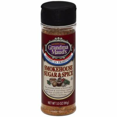 Grandma Mauds Smokehouse Sugar & Spice Seasoning, 3.5 oz, (Pack of 6)