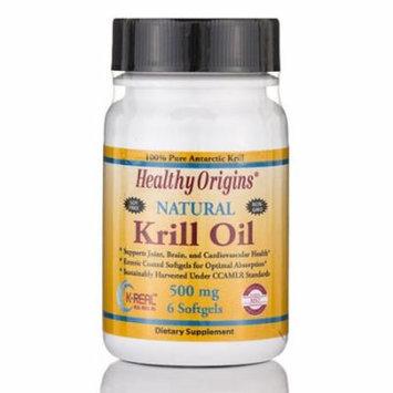 Krill Oil 500 mg (K-RealTM) - 6 Softgels by Healthy Origins