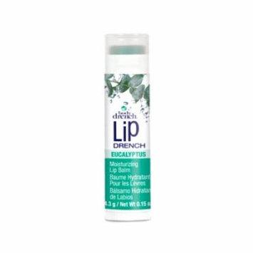 (6 Pack) BODY DRENCH Moisturizing Fruity Lip Balms - Eucalyptus