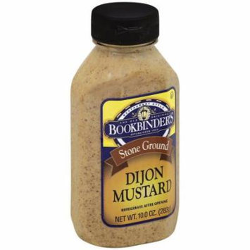 Bookbinders Stone Ground Dijon Mustard, 10 oz, (Pack of 9)