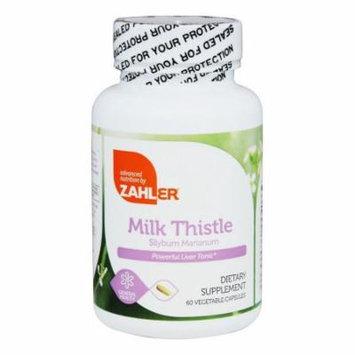 Zahler - Milk Thistle - 60 Vegetarian Capsules