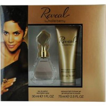 Reveal 2 Piece Set By Halle Berry - 1 oz Eau de Parfum Spray + 2.5 oz Sensuous Bath and Shower Gel (GREAT FOR MOTHERS DAY GIFTS)