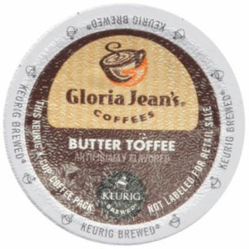 Gloria Jean's Butter Toffee, K-Cup for Keurig Brewers, 24 Count (Pack of 2)