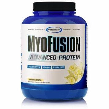 Gaspari Nutrition MyoFusion Advanced Protein, Banana Cream, 4 lbs (1814 g)