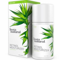 InstaNatural Retinol Moisturizer Anti Aging Cream - Anti Wrinkle Lotion For Your Face - Helps Reduce Appearance of Wrin