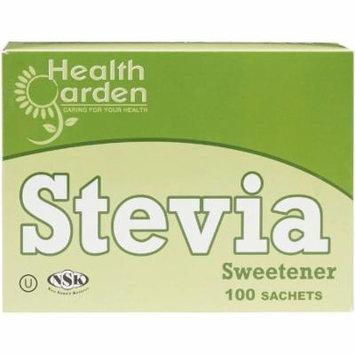 Health Garden Stevia Sweetener Packets, 100 count