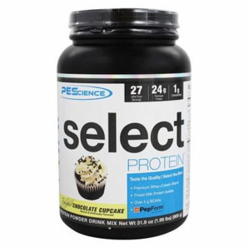 PEScience - Select Protein Powder Frosted Chocolate Cupcake - 1.99 lbs.