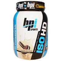 BPI Sports ISO HD Whey Protein Isolate and Hydrolysate Cookies and Cream 5LB