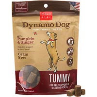 Cloud Star Dynamo Dog Functional Treats - Tummy - Pumpkin & Ginger