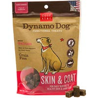 Cloud Star Dynamo Dog Functional Treats - Skin & Coat - Salmon